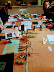Festive Cambo: Adult print workshop with Nicki Bradwell