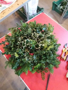 Traditional Cambo Moss Wreath workshop
