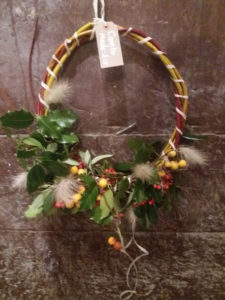 Contemporary Wreaths and decorations